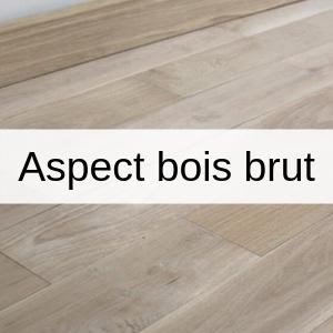 parquets aspect bois brut