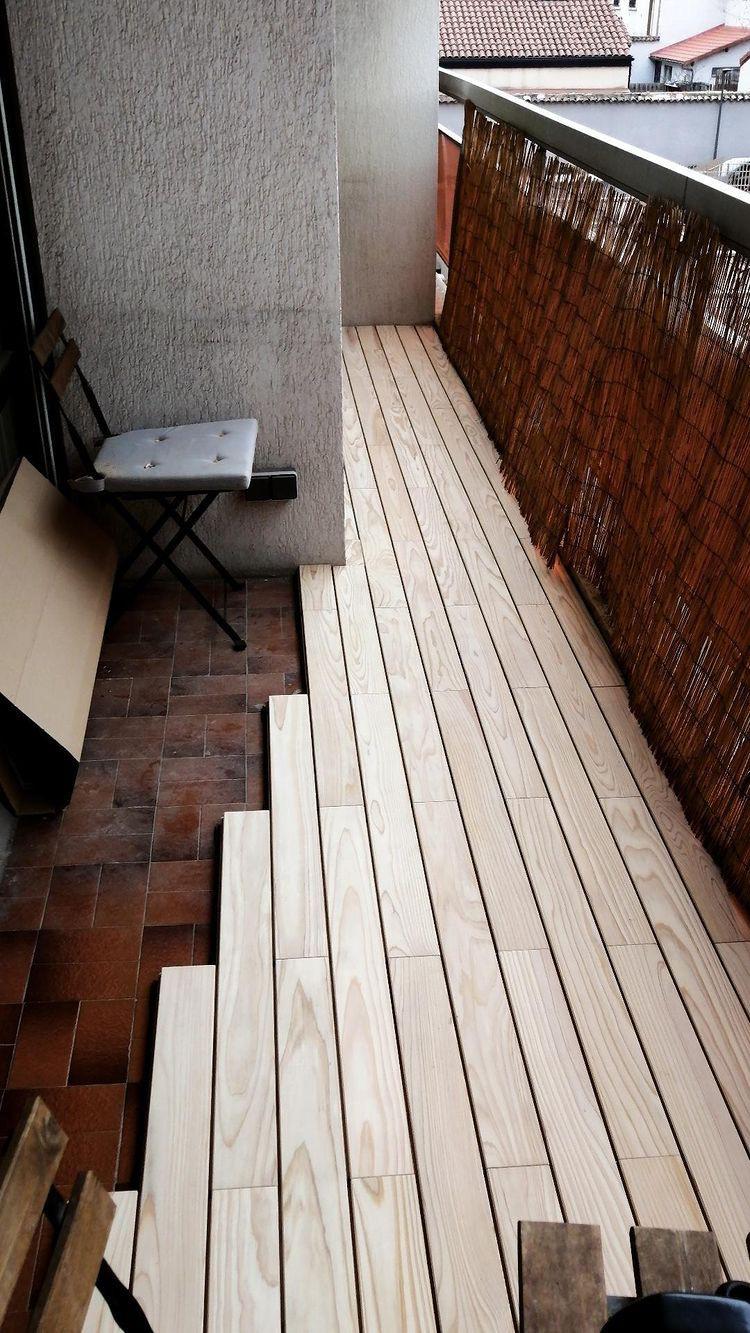 terrasse clipsable pour balcon