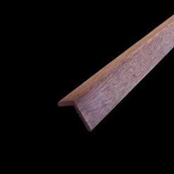 baguette d'angle bois rouge