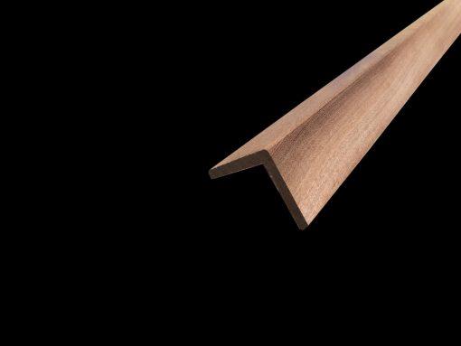 baguette d'angle bois exotique